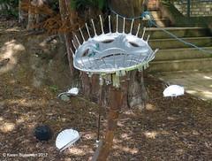 June 29th, 2012 Reading Arts Week, Venus Fly Trap (karenblakeman) Tags: uk sculpture art june caversham 2012 venusflytrap cavershamcourtgardens 2012pad readingartsweek