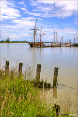 Ship To Shore 2012 (Clayton Perry Photoworks) Tags: boats sails richmond tallships hdr steveston shiptoshore