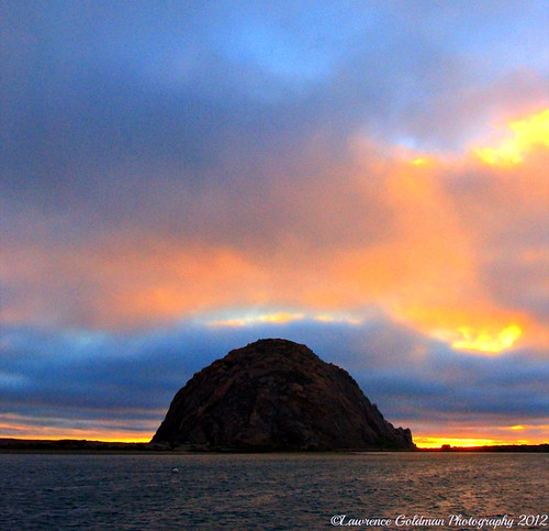 Glorious Sunset at Morro Rock
