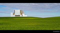 Green Power (blue fin art) Tags: summer field landscape scotland energy scottish nuclear torness