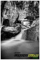gunung pulai 3 (Afzan Md Kamal) Tags: blackandwhite bw mountain water waterfall nikon air malaysia slowshutter gunung hdr johor airterjun pontian kulai placetovisit tahunmelawatmalaysia kitlen gunungpulai d7000 afzan tempatberiadah pulaifall
