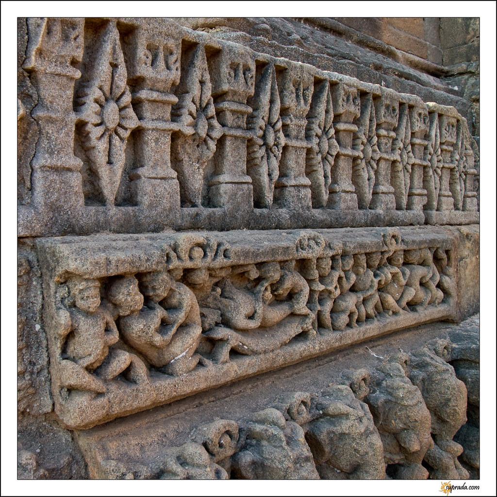 Rows of Carvings