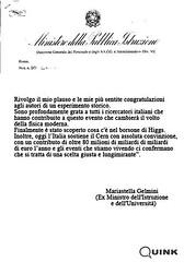(Quink!) Tags: italia ginevra ricerca politica ministro higgs pdl ministero istruzione gelmini bosone