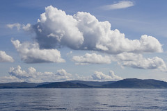 2012-06-06 Clouds over the mainland from the ferry boat (Pondspider) Tags: west ferry scotland boat inner oban iona mull hebrides caledonian staffa lunga macbrayne craignure anneroberts treshnish annecattrell pondspider