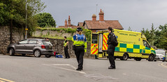 Gwent Police, Welsh and Great Western Amulance services, Hillcroft Rescue. (Mark Hobbs@Chepstow) Tags: volvo nikon accident ambulance service siren chepstow bluelight heddlu monmouthshire bulwark markhobbs gwentpolice gwas nikond7000rescueemergencydslrrawtraffic policewelsh