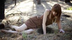 Reach (Adam Patrick Murray) Tags: pine necklace dress hole redhead