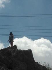 Cloudgirl (chrisgrohusko) Tags: sky mountains clouds mountainclimbing scenic daytime troposphere elpasotexas utep cumulonimbuscloud muranyi jeanettemuranyi