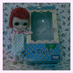 The new addition to the *Dollily* doll family