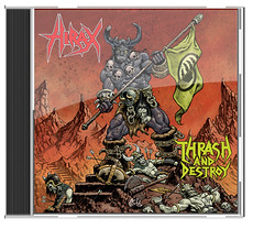 "HIRAX ""Thrash and Destroy"" DVD & CD 2008.  Made en Brazil. (HIRAX Thrash Metal) Tags: destruction metallica slayer mekongdelta sod anthrax exodus helloween sepultura megadeth venom suicidaltendencies metalchurch kreator testament annihilator nuclearassault voivod celticfrost mercyfulfate"