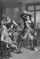 0040282 (Granger Historical Picture Archive) Tags: city men dutch leg north anger governor american engraving cripple middle handicap stuyvesant pieter colony surrender settlement amputee settler summons 1664 colonist newamsterdam pegleg colonialist newnetherland