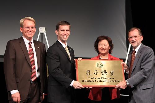 Confucius Classroom Opening Ceremony 10-25-2011