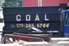 Need Coal? - IMGP6457 (geepstir) Tags: car reading pennsylvania rail pa shamokin speeder sunbury narcoa