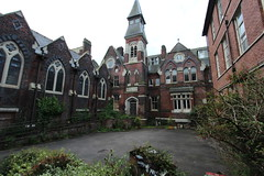 st Josephs orphanage 002 (scrappy nw) Tags: tower abandoned hospital gothic corridor creepy orphanage spire preston derelict stjoes deay