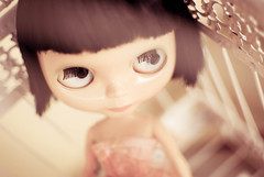 Amlie Poulain?!  (Natlia Viana) Tags: cute girl doll sweet blythe boneca lovely amliepoulain natliaviana