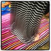 Dancing at Outside Lands (ScottRKline) Tags: square lofi squareformat pinktoenails outsidelands iphoneography instagramapp uploaded:by=instagram foursquare:venue=5022b9f1e4b04d1e26540615 maxiskirtstriped