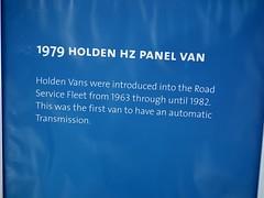 1979 Holden HZ Kingswood panel van - NRMA Road Service (sv1ambo) Tags: road new wales panel south national nsw service roads van 1979 hz holden association 2012 kingswood nrma motorists allholdenday