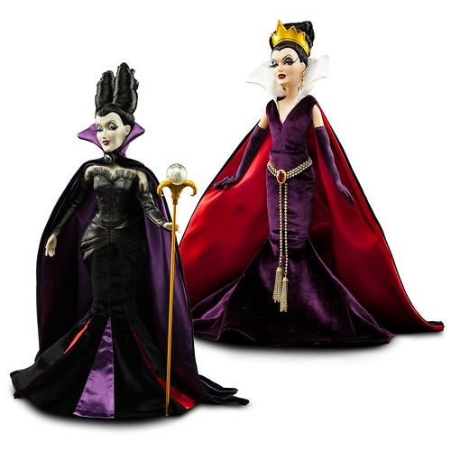 Aurora amp Maleficent Disney Fairytale Designer collection dolls Review and Unboxing