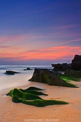 IMG_0115 (SILENTKILLER69 PHOTOGRAPHY) Tags: cloud seascape tourism beach nature rock sunrise canon landscape eos dawn explore malaysia scape kijal terengganu mosses cokin p121 gnd8 pantaipenunjuk 1000d silentkiller69