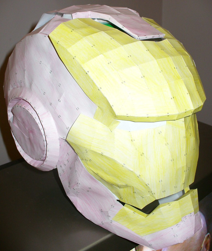 The World S Newest Photos Of Helmet And Papercraft Flickr Hive Mind