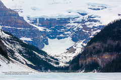 ( Lake Louise 6 ) ( SUMAYAH  ) Tags: park ca camera lake snow canada mountains canon landscape eos ab explore louise national alberta banff sose    explored 550d  sumayah            sumayahessa