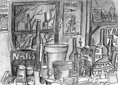 I am not an alcoholic (roberthuffstutter) Tags: style expressionism impressionism huffstutter watercolorsbyhuffstutter artmarketusa