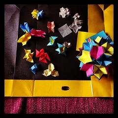Caff Espresso Series | Caff Corretto  In tazza Grande & various variations modules (Andrey Hechuev |  ) Tags: coffee ball paper origami sphere modular late espresso latte papier paperfolding papiroflexia carta papercraft papercrafts palla poliedro polyhedra modularorigami pallina kusudama sfera  kafee  magicball       modulare polyhedric paperball   papiel   origamimodulare               macchiattone