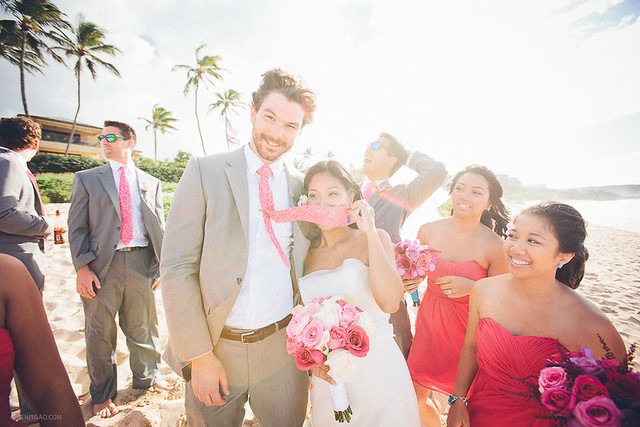 Lea & Chris / Kapalua Plantation House Wedding