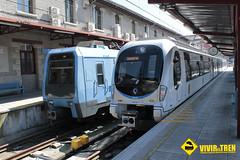 Trenes Euskotren Donostia (vivireltren) Tags: tren bilbao euskotren atxuri ut3500 ut900