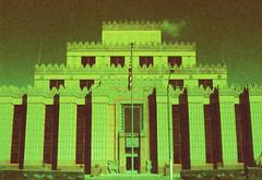 Voigtlander VSL Citadel () Tags: california camera slr classic film architecture 35mm vintage mall germany los angeles citadel voigtlander retro southern m42 outlet assyrian