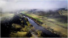 Morning Magic Above Plenty (Trains In Tasmania) Tags: mist green water fog clouds river outdoors countryside scenery view outdoor derwentvalley scenic australia scene aerial vista tasmania plenty drone derwentriver dji earlylighting tasmanianscenery derwentvalleyline derwentvalleyrailway derwentvalleybranch trainsintasmania tasmanianscenary stevebromley djiphantom3standard