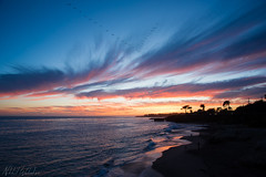 Let's call it a day (walvekar) Tags: california santa trip blue sunset sea santacruz beach water colors clouds evening sand waves unitedstates cruz outing malhar 500px aryash ifttt