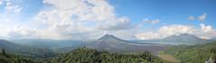 Mount Batur Panorama (Wormey) Tags: bali indonesia photoshopped 2016 stitchedpanorama canon650d