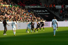 Going through (Steenjep) Tags: football herning soccer fodbold fcm snderjyske fcmidtjylland