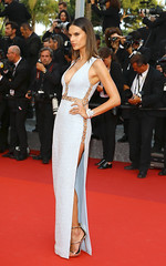 The Unknown Girl Premiere (Estallidos1) Tags: france cannes fulllength event arrivals redcarpet whitedress