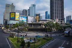 Crossroad of History (Blue Nozomi) Tags: democracy shrine political philippines rally manila crossroad bastion peoplepower crucial edsa ortigas