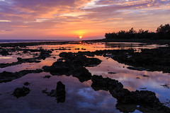 Sunset (sic Chiu) Tags: sunset sky sun reflection      6d           ef1635mm