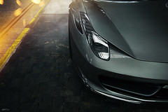 Ferrari 458 Italia (phP!cs) Tags: light dark photography switzerland nikon italia automotive ferrari nikkor postproduction supercar d800 sportcar 458 swissmade automotivephotography ferrari458 swisscars phpics