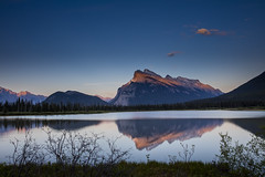 Mount Rundle (Peter Stahl Photography) Tags: mountrundle banffnationalpark banff sunset evening vermillionlake