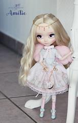 Amlie (Mikiyochii) Tags: cute doll dolls ooak lolita groove pullip fashiondoll pullips repaint angelicpretty