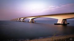 Zeelandbrug (Omroep Zeeland) Tags: zeeland sluitertijd oosterschelde zeelandbrug