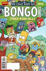 Bongo Comics Free-for-All 2016  (Free Comic Book Day 2016) (FranMoff) Tags: tree bongo bart simpsons comicbooks freecomicbookday freeforall comicbookguy fcbd2016