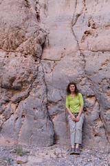 Wall portrait (mfeingol) Tags: california ella deathvalley narrows tituscanyon
