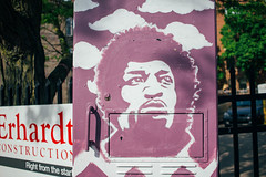 Hendrix (ahcordes) Tags: city art mural downtown grand rapids hendrix jimi