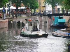 LANGE HAVEN (streamer020nl) Tags: holland netherlands boot boat ship nederland tugboat paysbas schiff niederlande gracht schiedam zuidholland sleepboot schip 2016 langehaven 010616