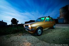 Viajando con el Forito!! (Nando Ferrer) Tags: santiago espaa lightpainting ford de la torre fiesta coche nocturna es sanclemente castillo antiguo clasico castillalamancha santiaguin