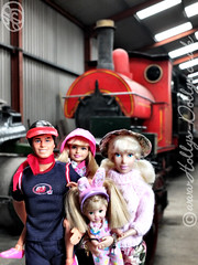 "** Our Family Vacation In The Lake District - May 2016 ** Day 6 - ""Toot-toot !!"" - All aboard the Dolly-Express ! ... Chuff-chuff, clackedy-clack. (HollysDollys) Tags: family vacation lake holiday fairytale train toy toys blog stacie doll dolls princess toystory lakedistrict emma ken barbie rocky ella railway trains disney holly story shelly kelly cinderella ruby dolly fashiondoll disneystore 12inch dollies happyfamily dollie familyholiday dollys disneydoll toystories fashiondolls cinderelladoll playscale dollstories dollstory disneydolls playdoll hollysdollys elladisneydoll ellatheworldaccordingtoadisneydoll wwwhollysdollyscouk"