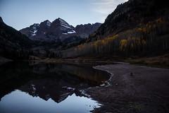 IMG_7984a (markbyzewski) Tags: mountain lake twilight colorado aspen maroonbells