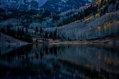 IMG_7970a (markbyzewski) Tags: mountain lake twilight colorado aspen maroonbells