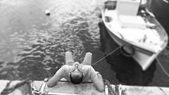 man...b/w (Love me tender .**..*) Tags: sea people blackandwhite white man blur water monochrome face portraits greek photography back greece 2016 megara pahi dimitrakirgiannaki kostaspolizos