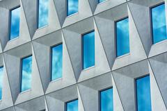 14 windows (on Explore) (Jan van der Wolf) Tags: windows reflection building lines architecture clouds composition wolken denhaag minimal diagonal ramen rhythm architectuur gebouw lijnen spiegeling compositie diagonaal map14631ve